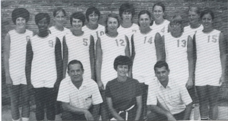 1971 USA Women's Pan American Games Team