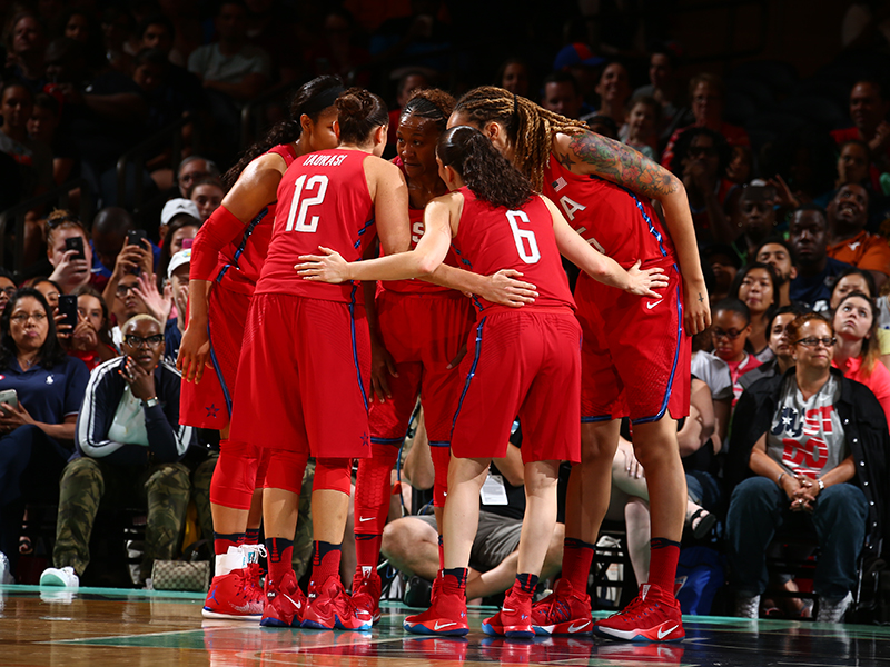 The USA National Team finished its four-game exhibition tour with a perfect record.