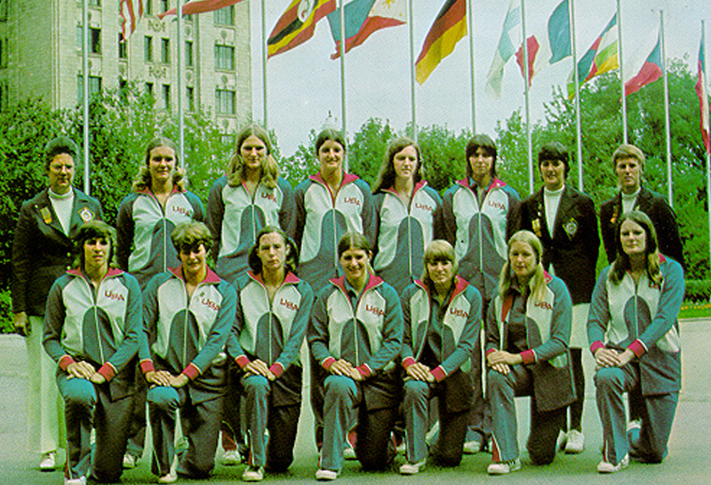 1973 USA Women's World University Games Team
