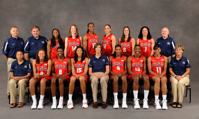 2008 U.S. Olympic Women's Basketball Team