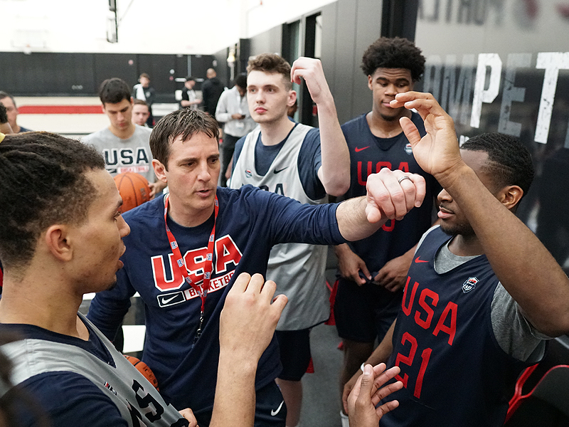 USA Nike Hoop Summit Team