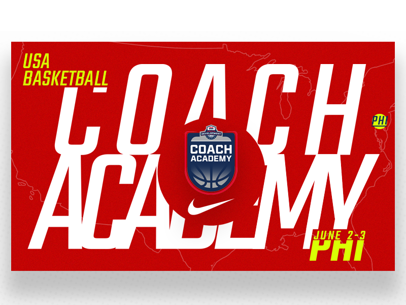 USA Basketball Philadelphia Coach Academy