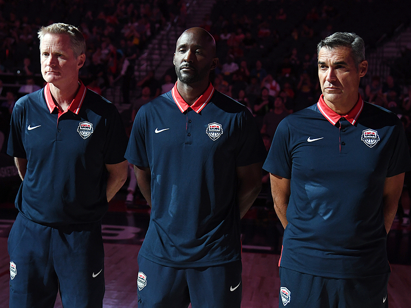 Steve Kerr, Lloyd Pierce, Jay Wright