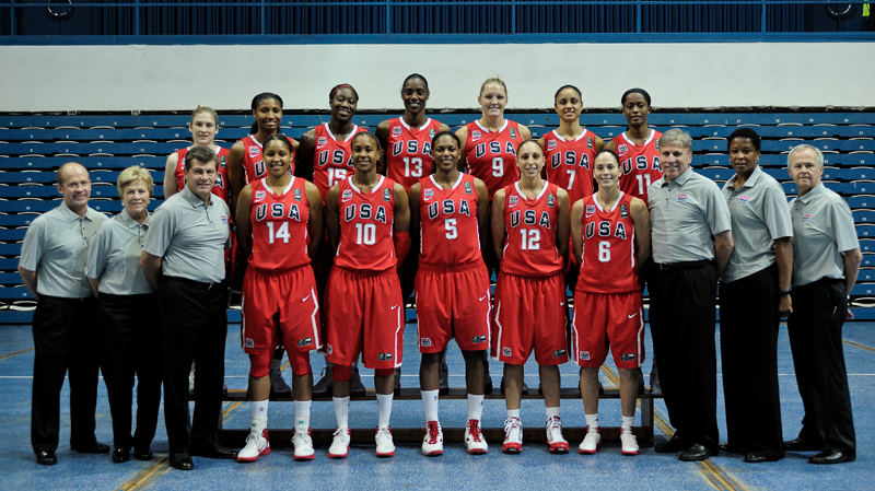 2010 USA Women's World Championship Team