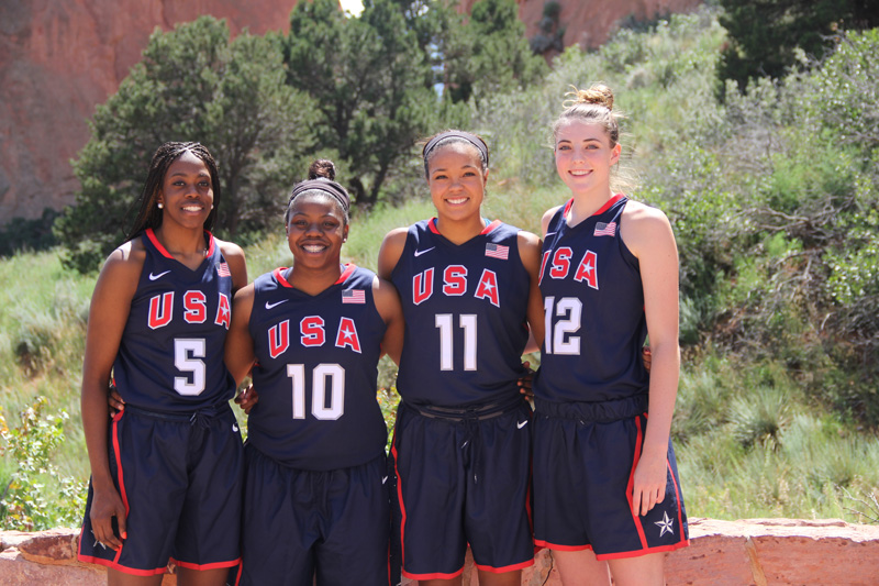 The 2014 Youth Olympic Women's Basketball Team