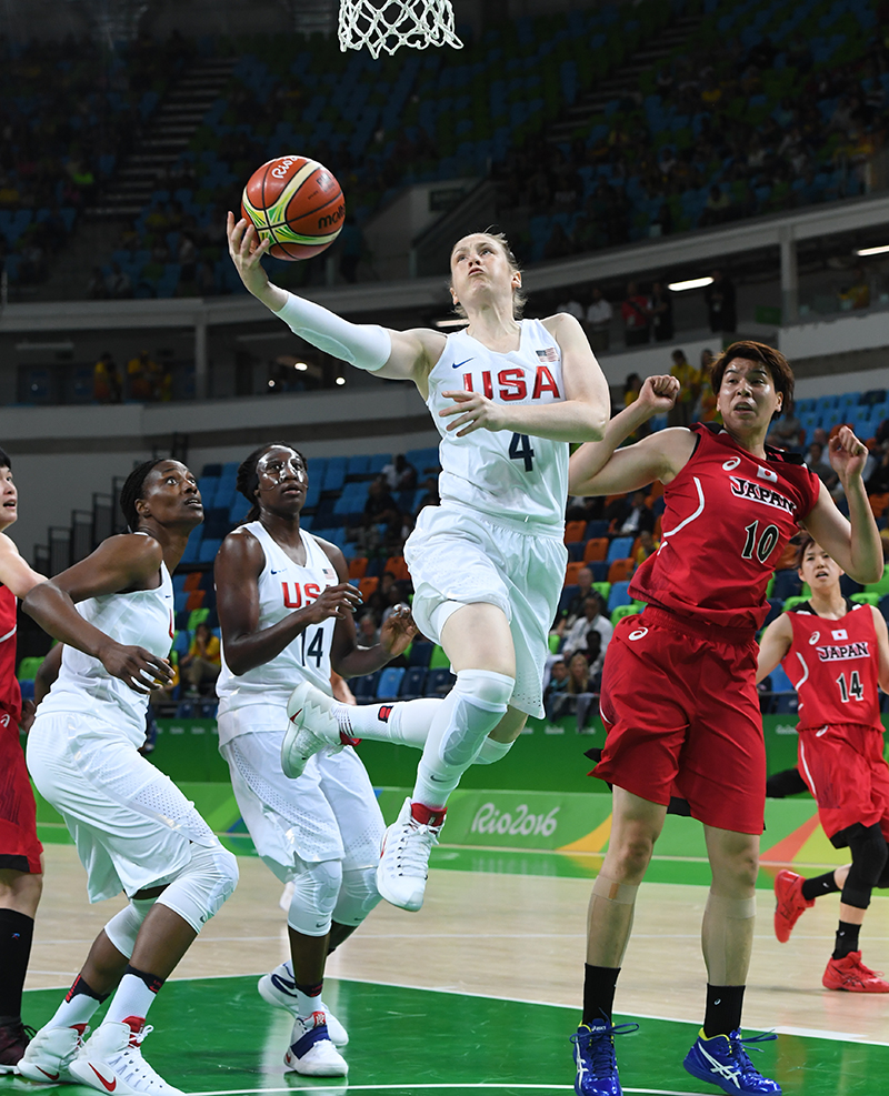 Lindsay Whalen had 10 points and four assists.