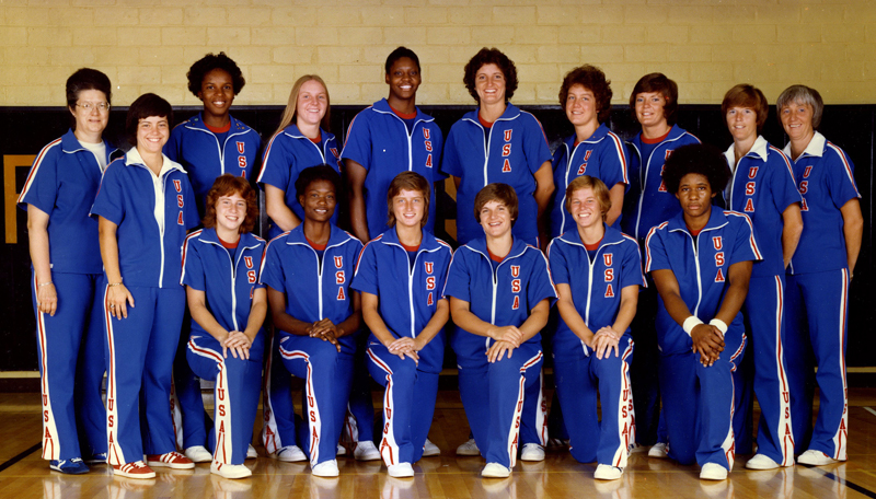 1976 USA Women's Olympic Qualifying Tournament Team