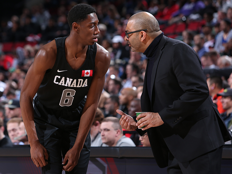 RJ Barrett and Roy Rana