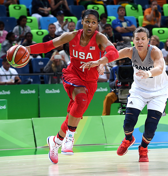 Maya Moore had 15 points, seven rebounds and three assists.