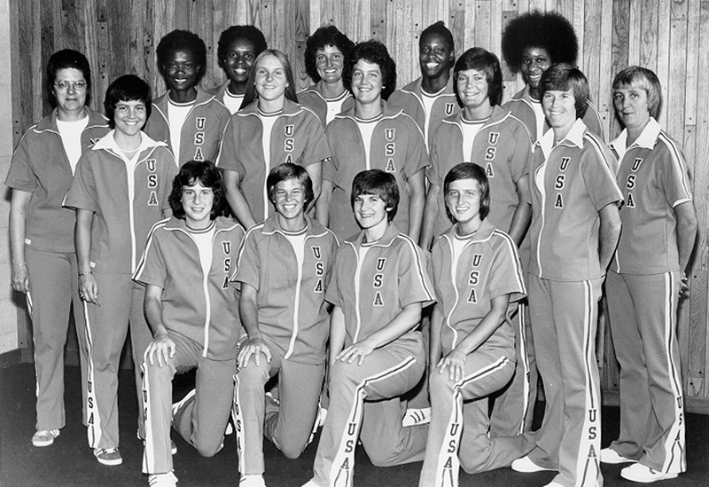 1976 U.S. Olympic Women's Basketball Team
