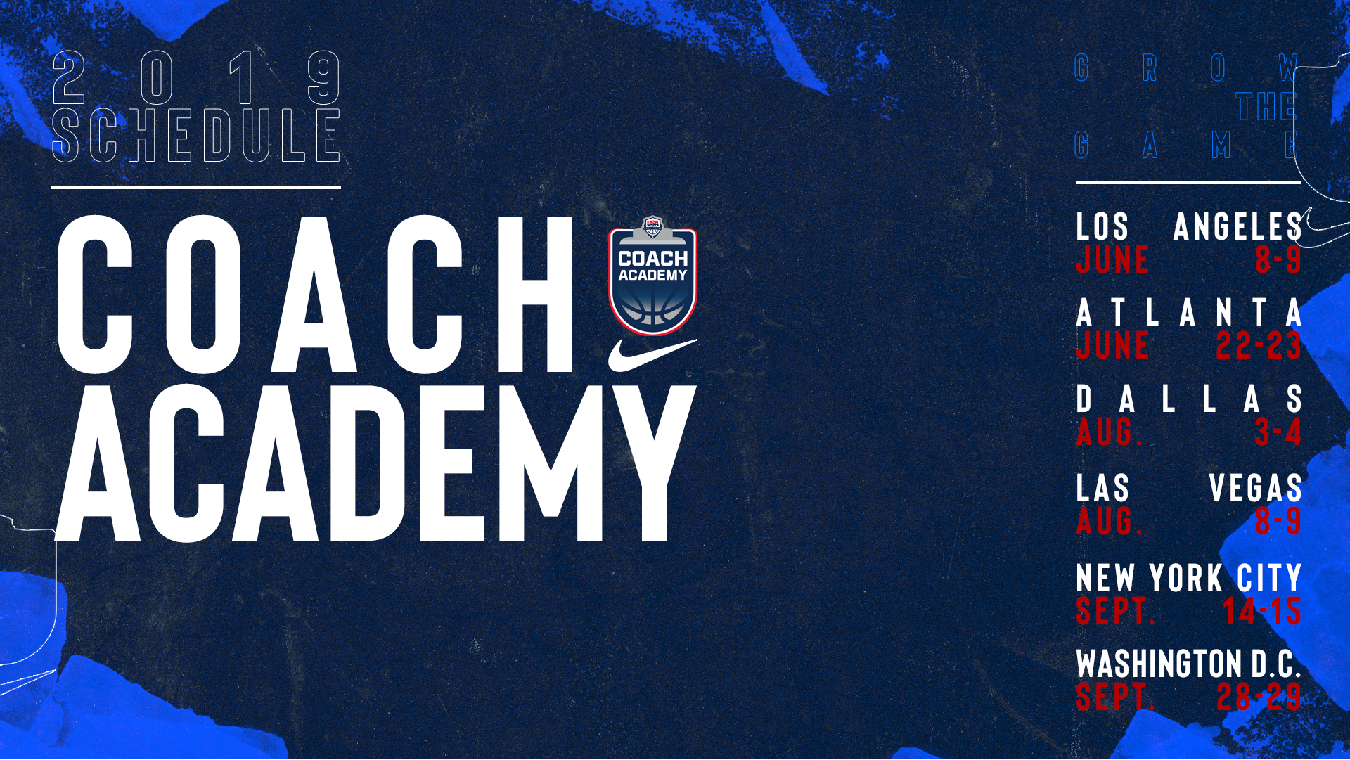 2019 USA Basketball Coach Academies