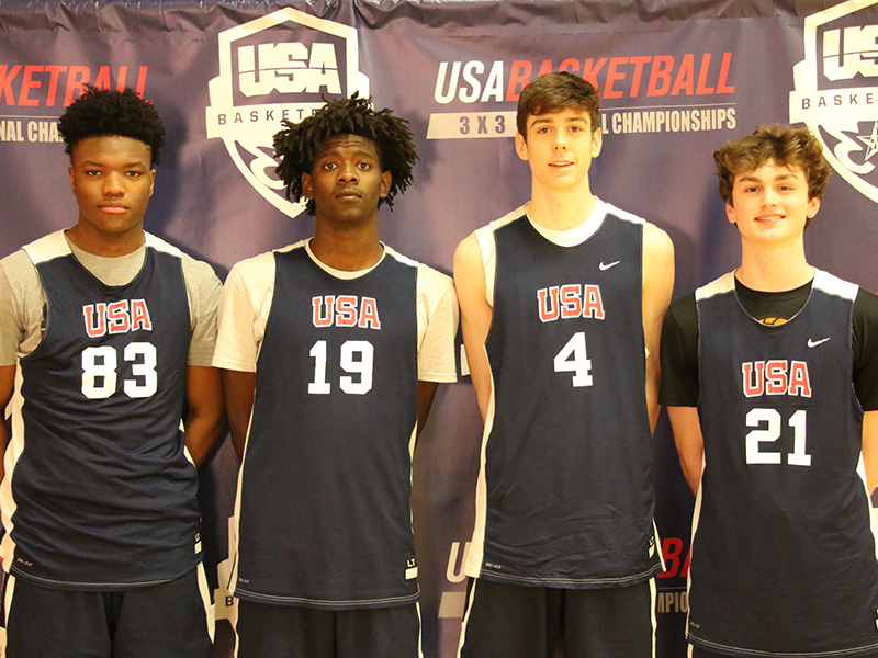 2010 USA Basketball Men's Youth Olympic Games Team