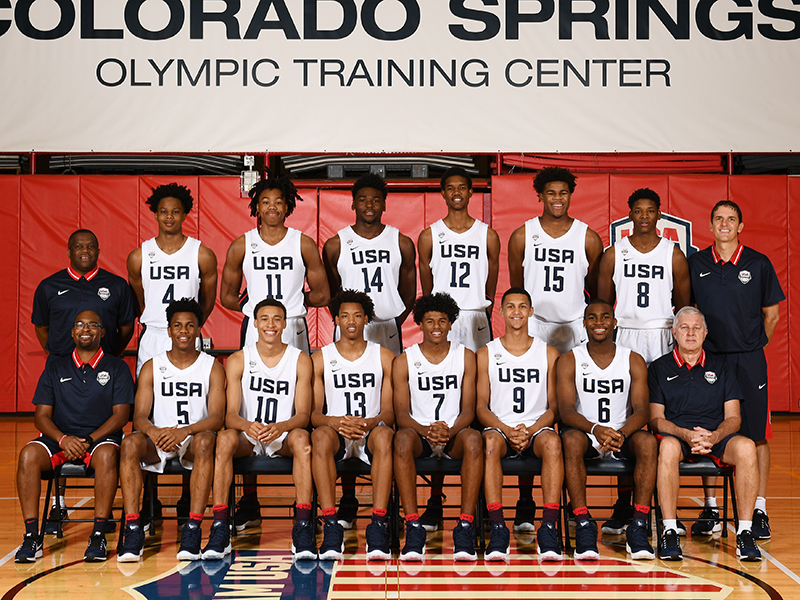 USA Basketball MU17
