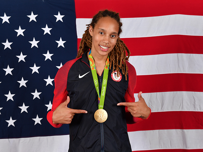 Brittney Griner Through the Years