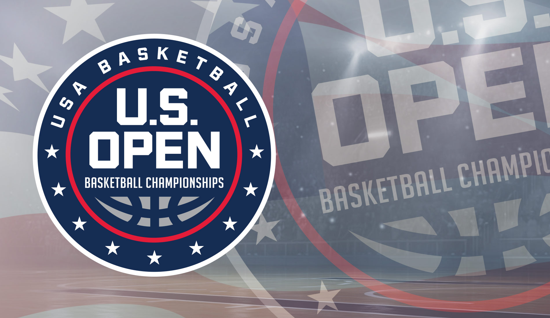 US Open Basketball Championships Graphic