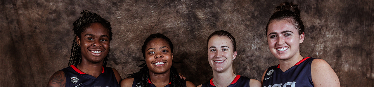 2018 USA Baskeball Women's 3x3 world Cup Team