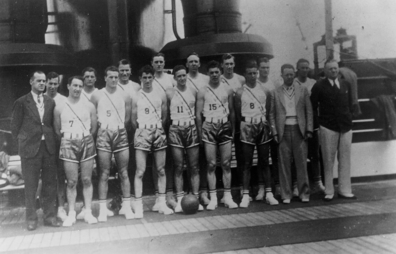 1936 U.S. Olympic Men's Basketball Team