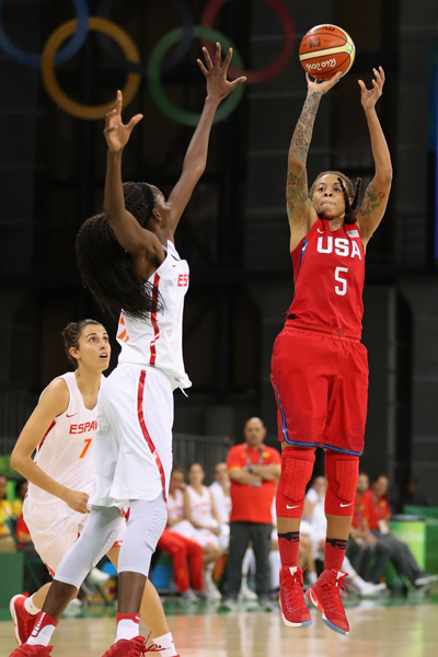 Seimone Augustus continued her strong play with six points, three rebounds and three assists.