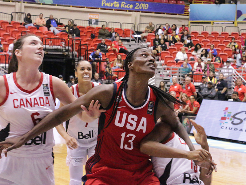 USA AmeriCup Team v Canada for Gold
