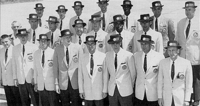1955 USA Men's Pan American Games Team