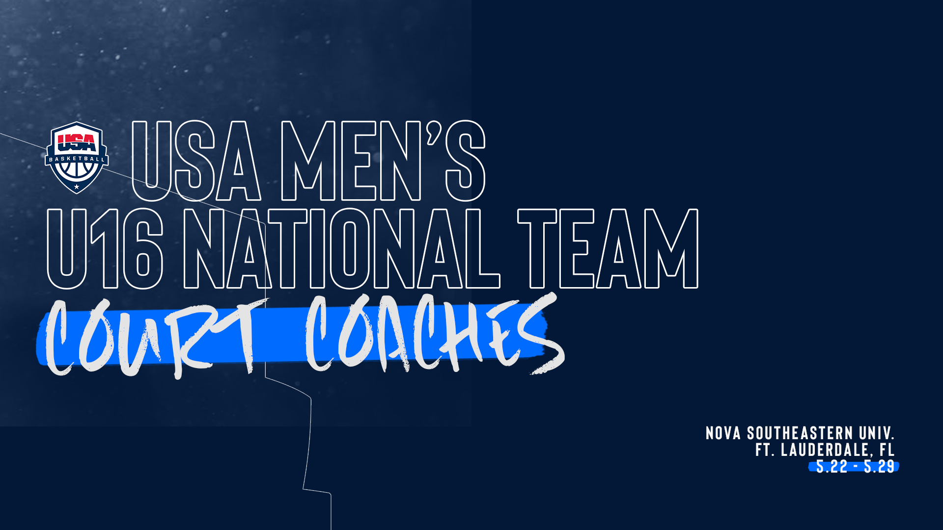 2019 USA Men's U16 Court Coaches