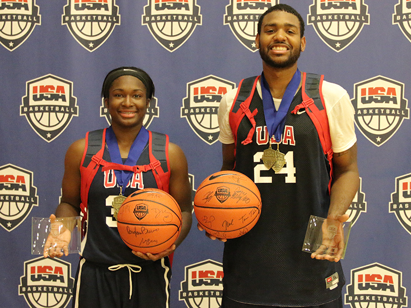 Men's and Women's Most Valuable Players