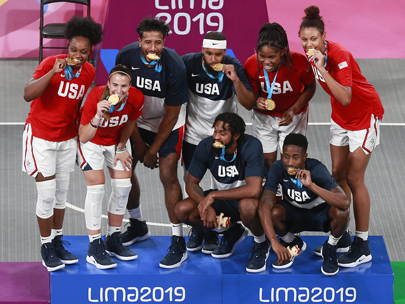 2019 USA Men's and Women's 3x3 Pan American Games