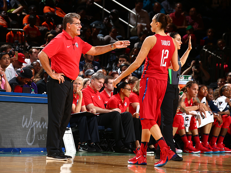 Geno Auriemma and Diana Taurasi have won three NCAA titles, two FIBA World Championship gold medals and one Olympic gold medal together.