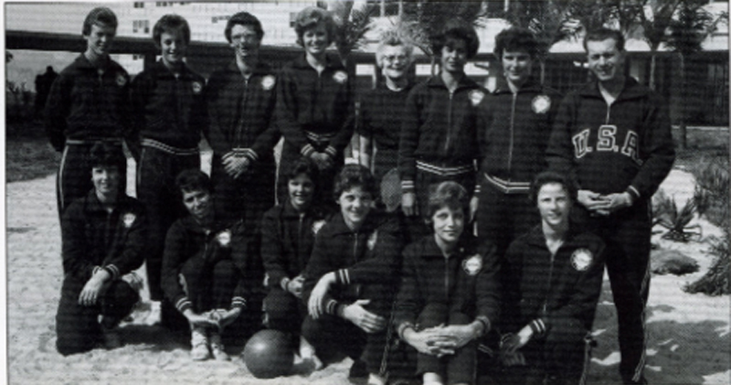 1963 USA Women's Pan American Games Team