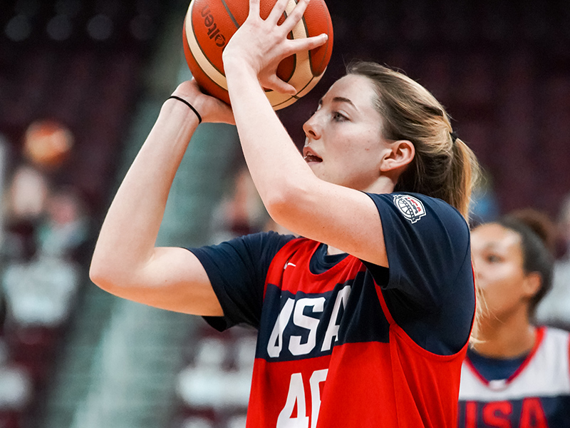 Katie Lou Samuelson has earned six gold medals, including three in 3x3 competitions.