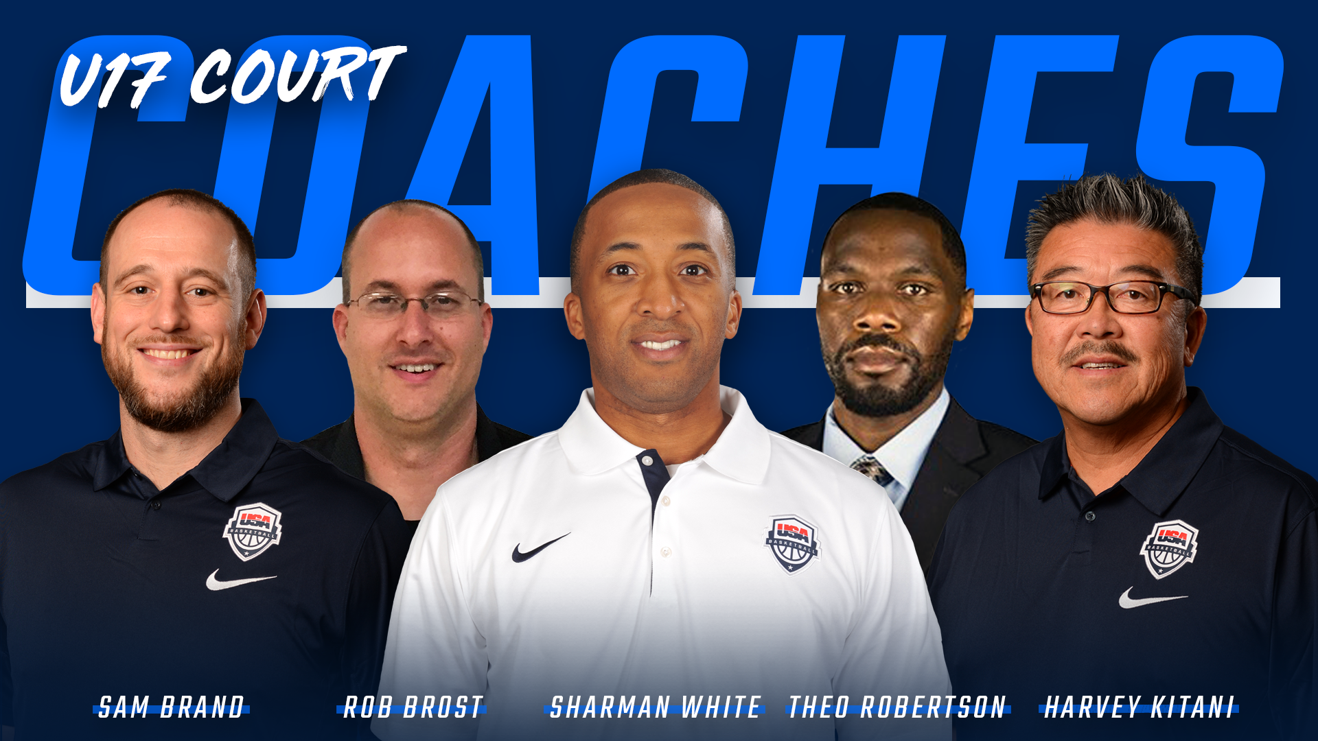 2018 USA Men's U17 Court Coaches