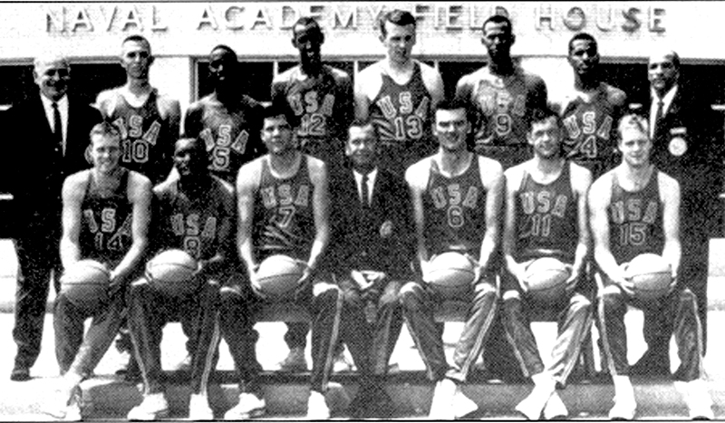 1965 USA Men's World University Games Team