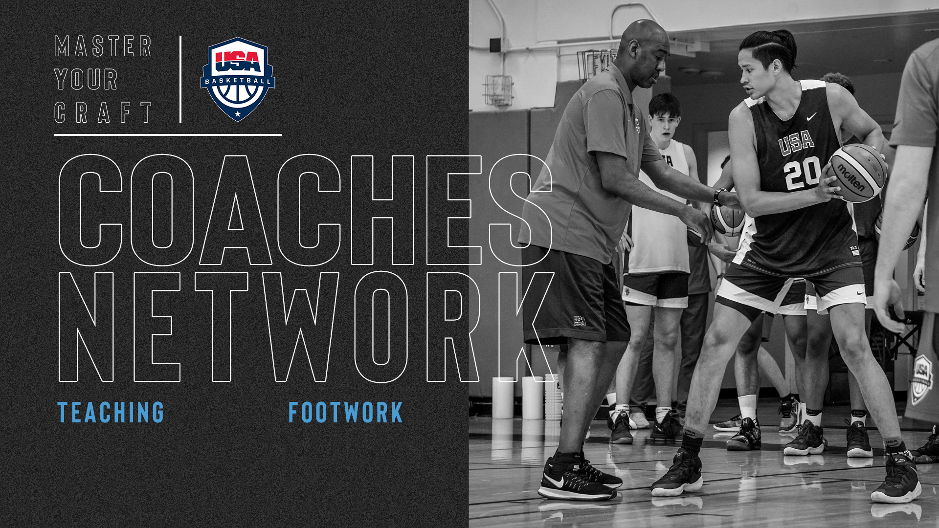 Coaches Network Teaching Footwork