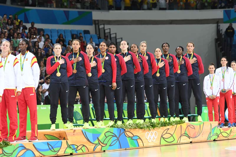 Take a Look Back at the USA Basketball Medalists from 2016