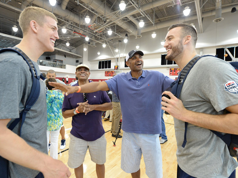 Mason Plumlee and friends