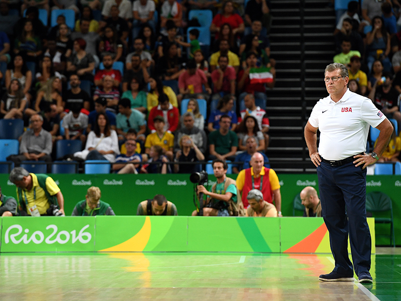 USA head coach Geno Auriemma has piloted the USA to within one win from history.