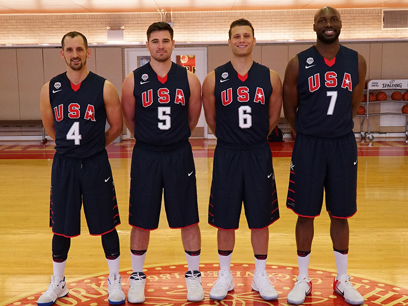 2017 USA Men's 3x3 World Cup Team