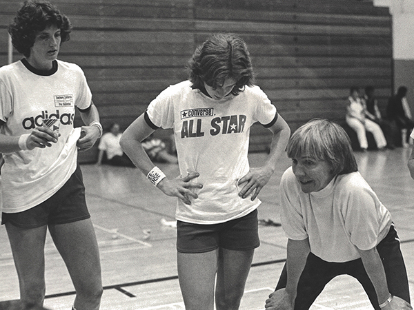 Nancy Dunkle, Nancy Lieberman, Sue Gunter