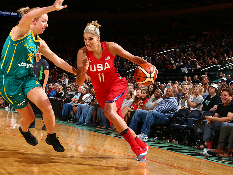 Elena Delle Donne finished with 19 points on the night.