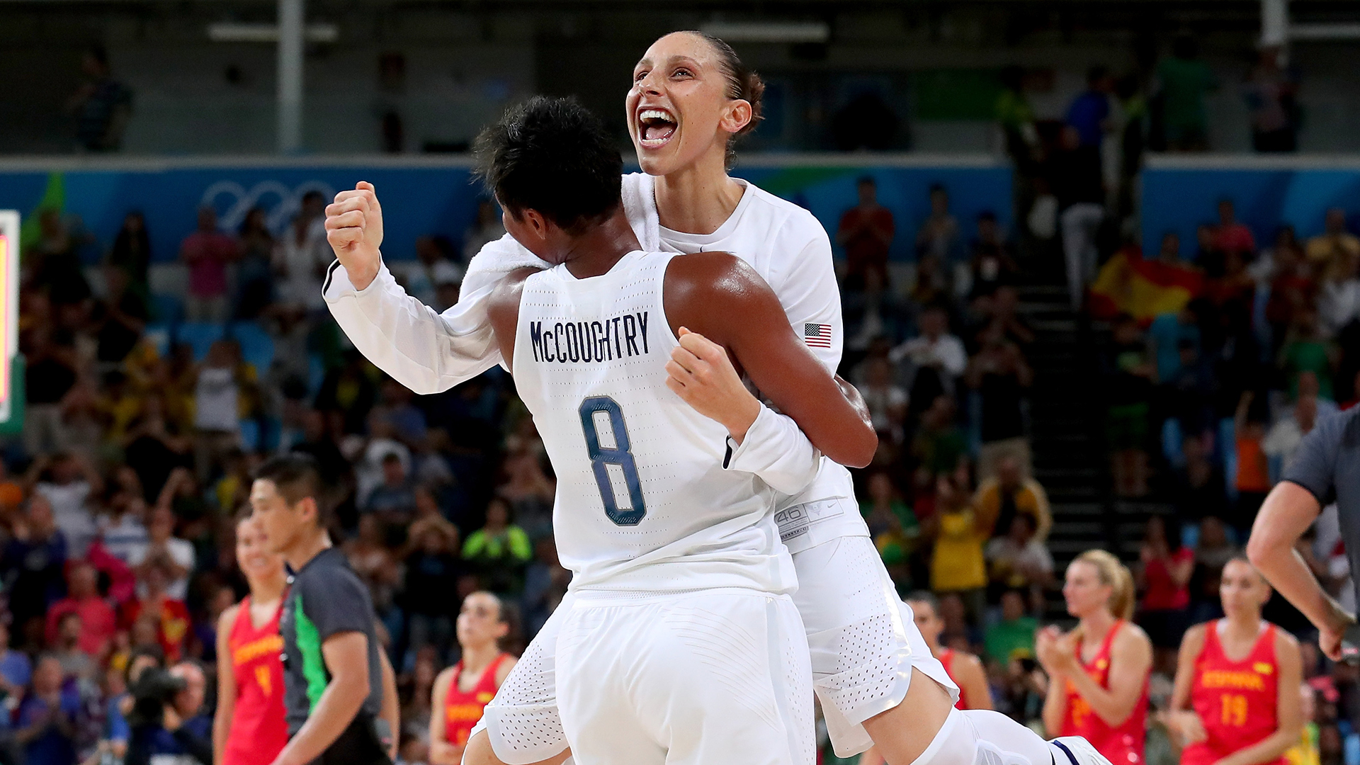 Angel McCoughtry, Diana Taurasi